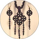 Victorian Collection - Necklace and Ear Ring Kit
