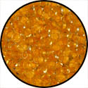 11_1937 - Semi Matte Peach / Lined Light Amber